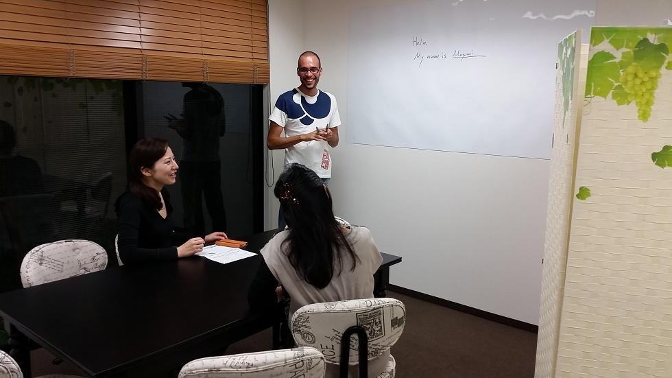ウインザー英会話の初心者グループクラス