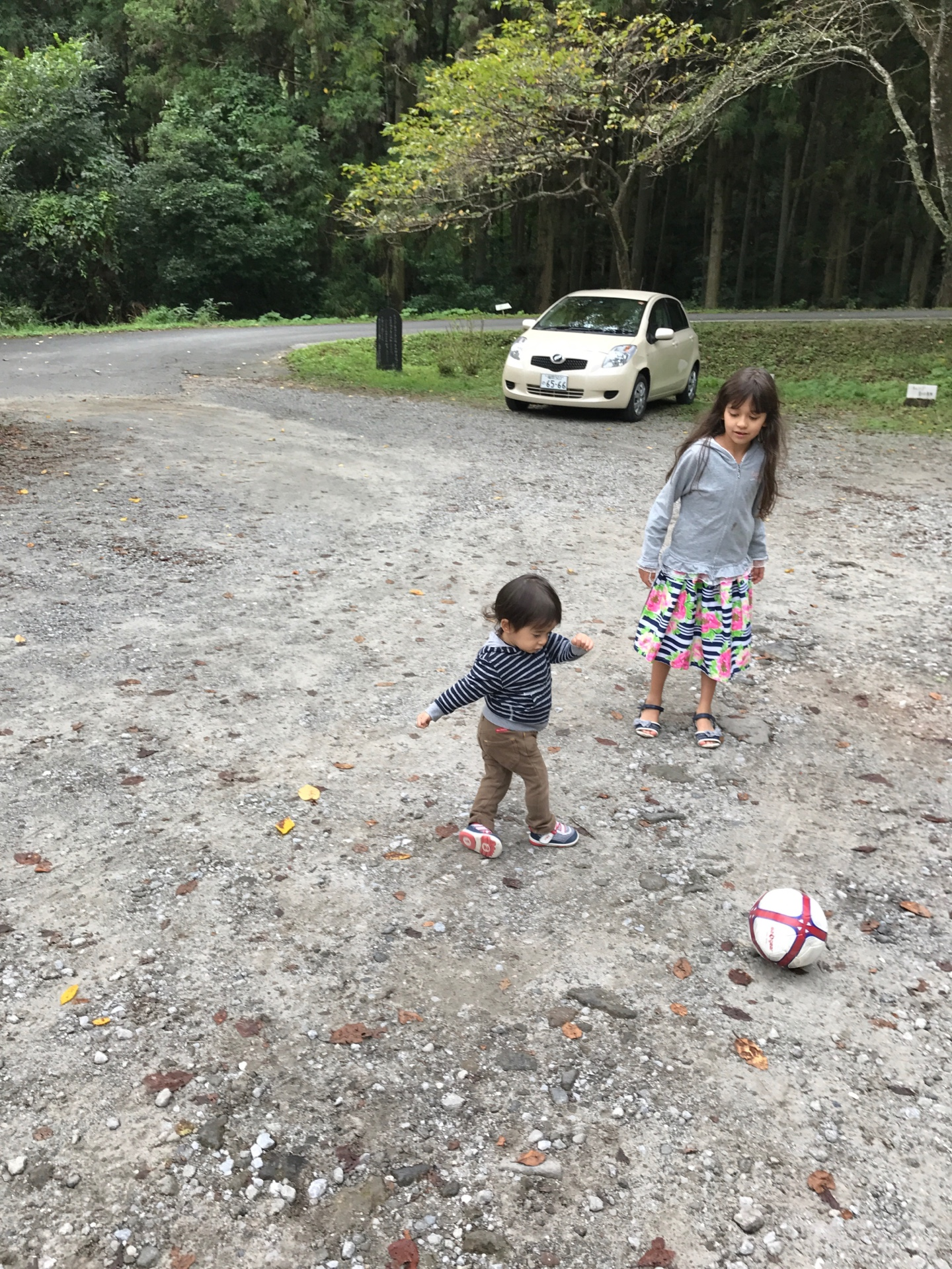 Alexander playing football