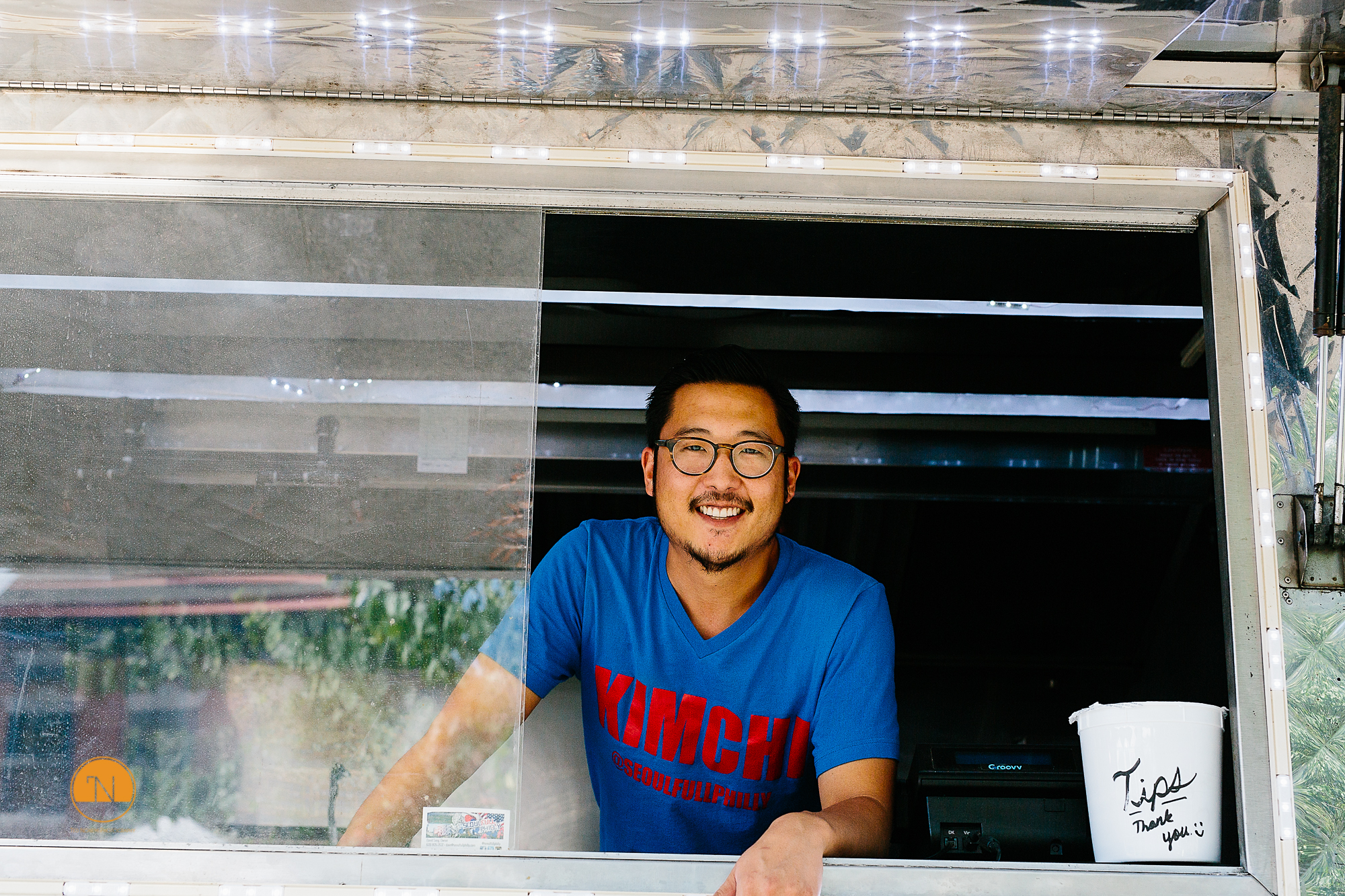 David of Seoulfull Philly food truck.