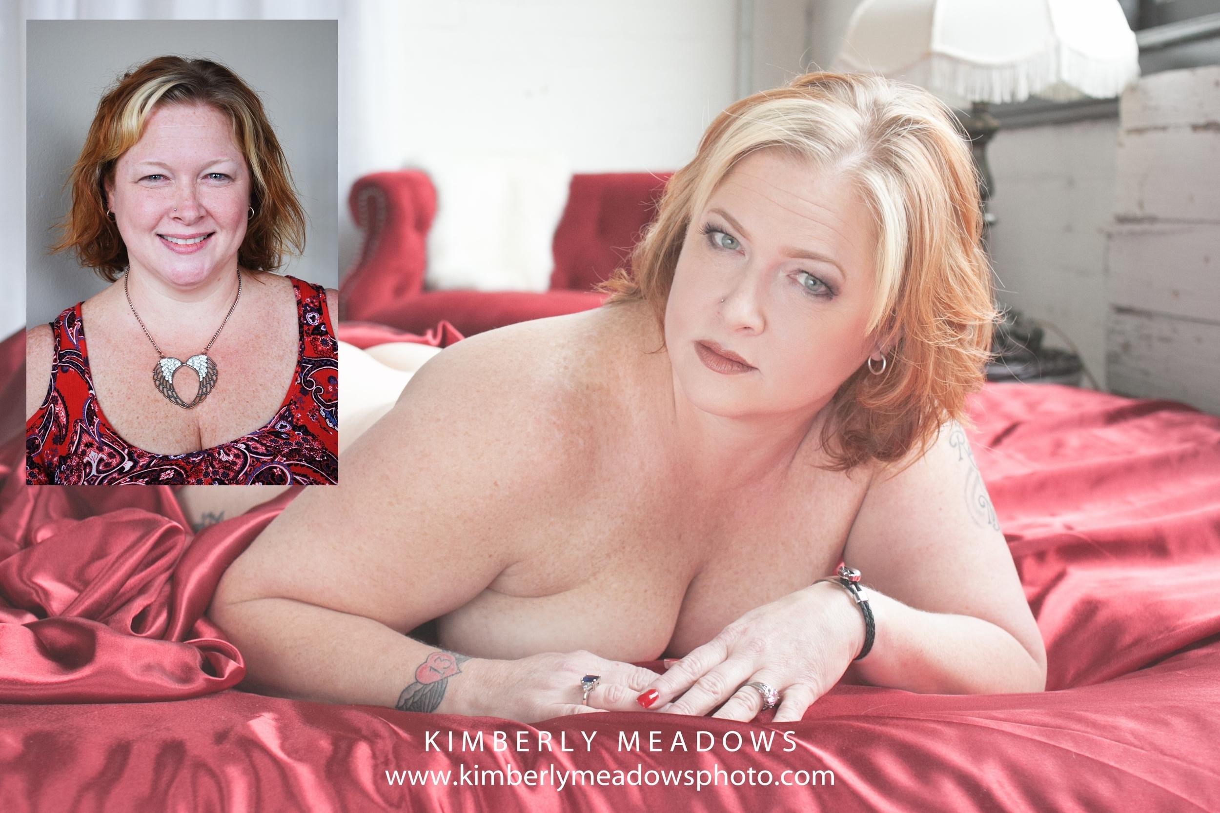 Cincinnati Boudoir before and after