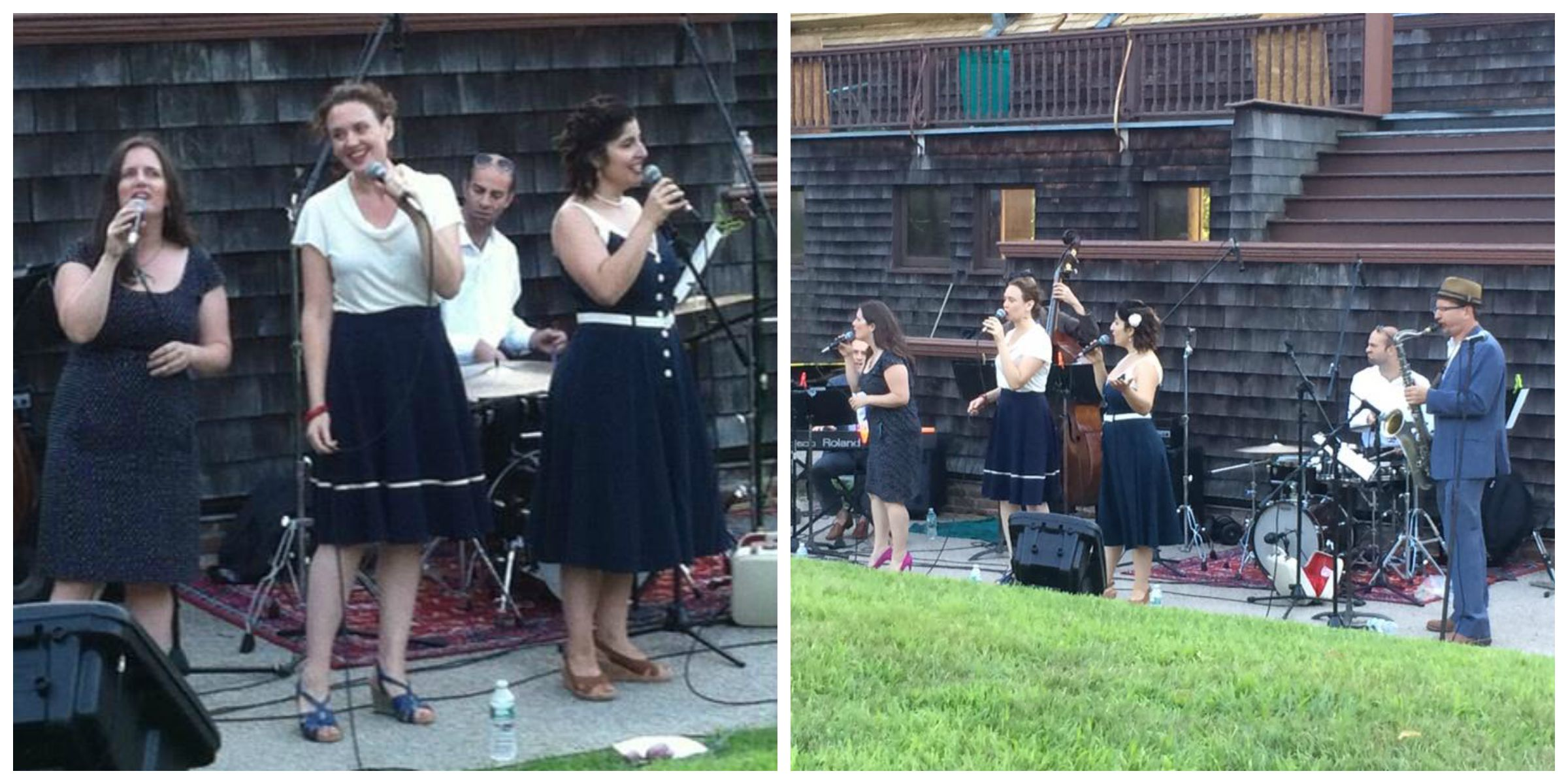 Photos taken by our fans from the Jazz at Lyndhurst concert...a sunny, mild evening in a beautiful outdoor setting.  What a great way to close out our summer!