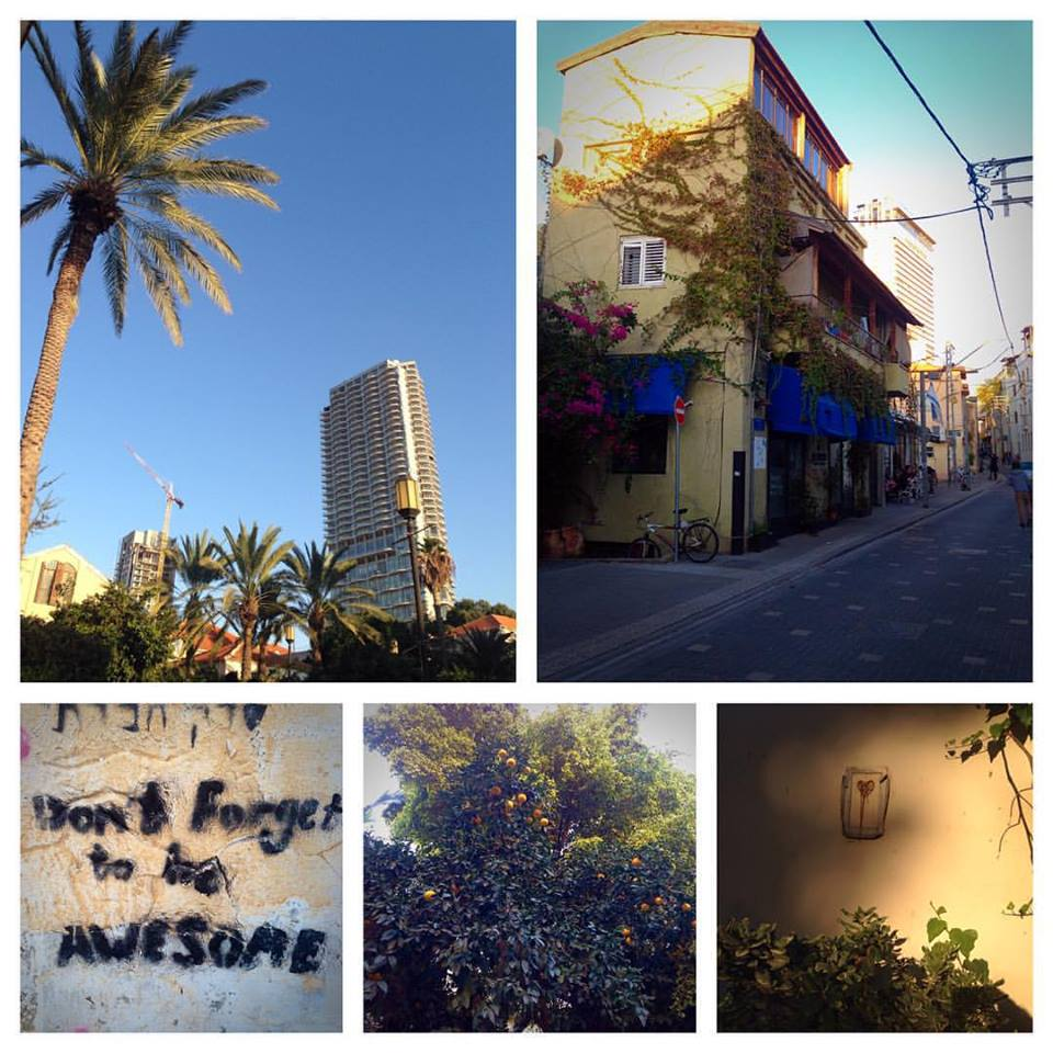 Glimpses of Tel Aviv...don't worry.  We won't forget to be awesome.