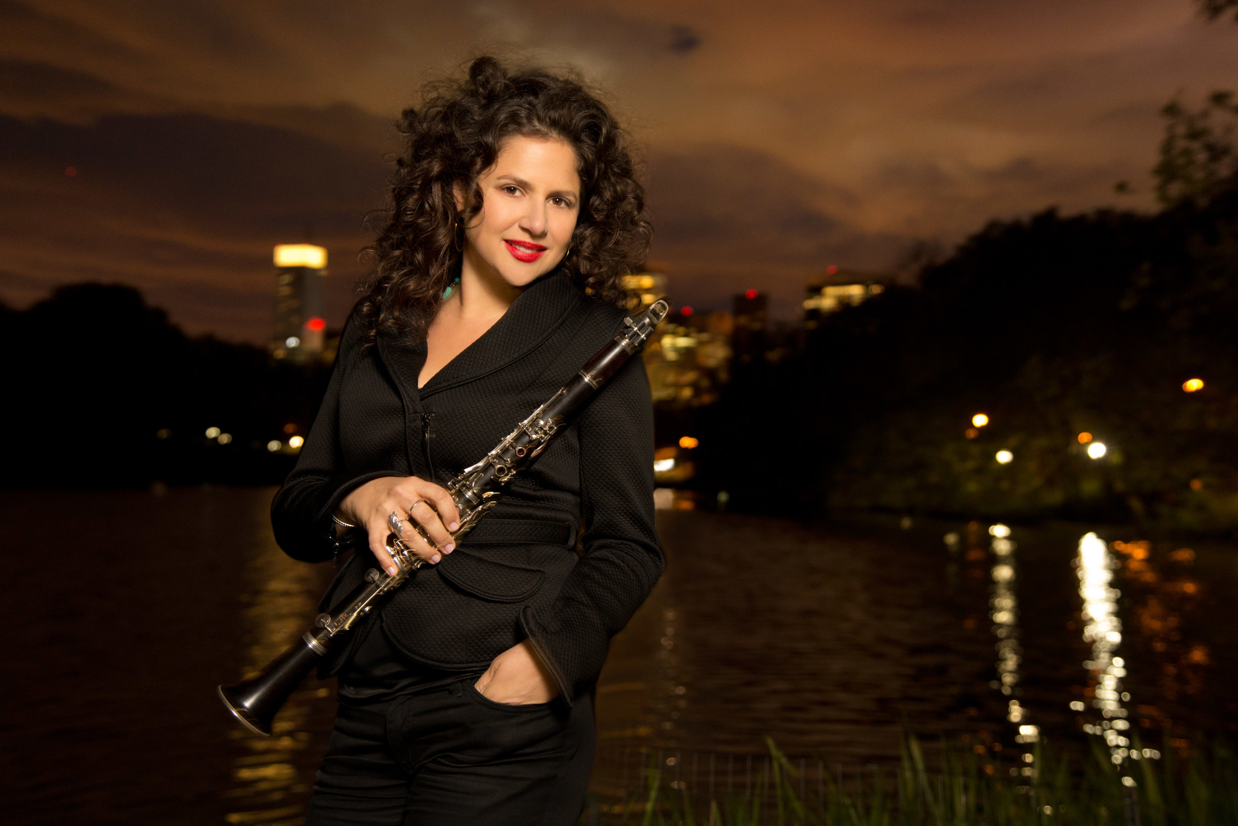 "Special album guest clarinetist (and the ""An"" in ""Anzic Records"") the great Anat Cohen!"