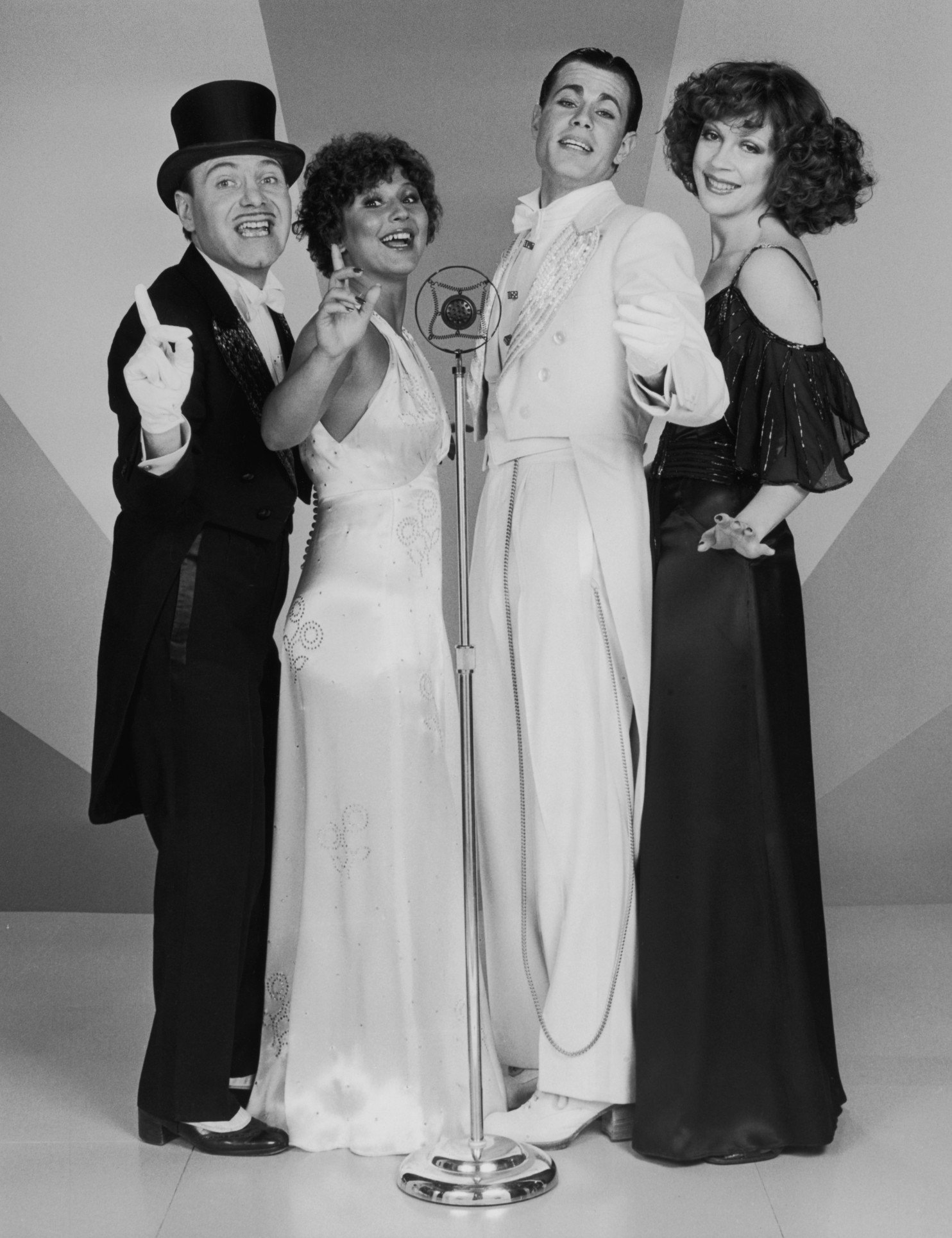 A publicity still from the early days of the Manhattan Transfer.