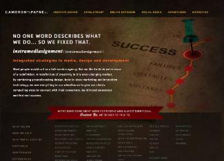 Cameron Payne Design Website Copy