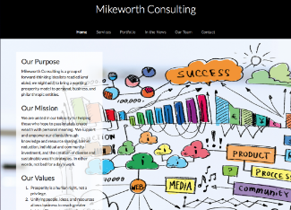 Mikeworth Consulting Website Copy