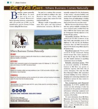 Elk River Advertorial