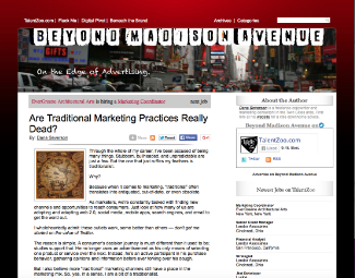 Are Traditional Marketing...?