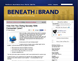 Social Consumer Care