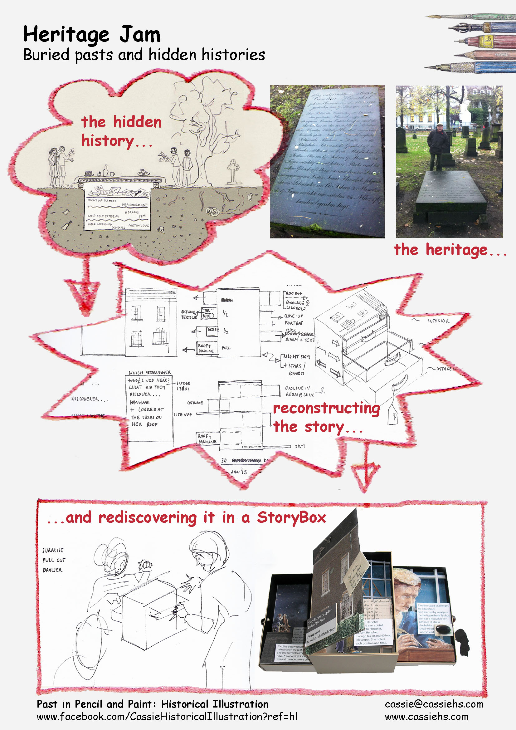 Rediscovering a buried past and hidden history - Storybox - Cassie Herschel-Shorland