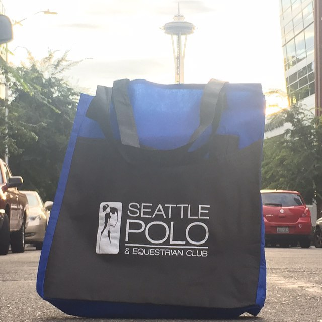 You can't have swag bags without a bag with swag #SeattlePoloParty our Elite VIP ticket holder will be leaving with a few great goodies thanks to @lbdutchess and #sociallysavy.  Special thank you to all our sponsors as well.  Seattle Polo Party (Sunday Aug 14th)  go to SeattlePoloParty.com for tickets #SeattlePolo