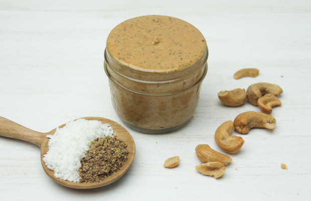 Coconut Cashew Flax Butter
