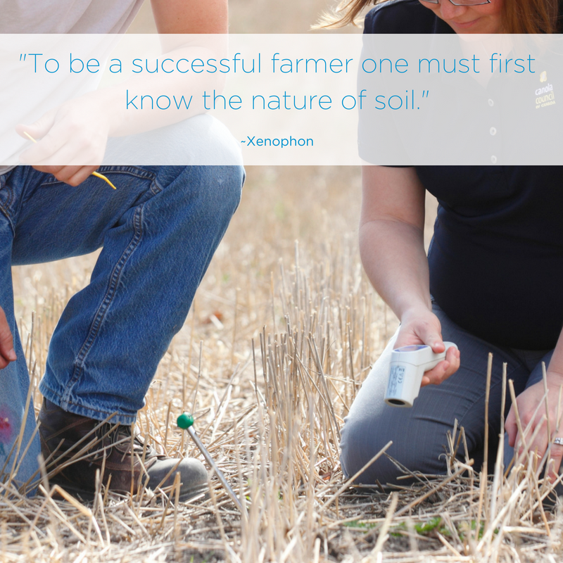 Social Media Post: One of the first steps farmers take before planting a crop is to test the soil to determine what it needs to grow that crop successfully! #sustainablefarming