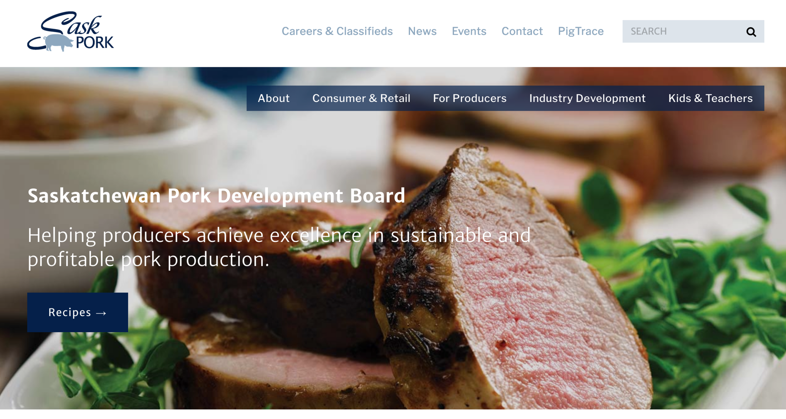 SaskPork Website
