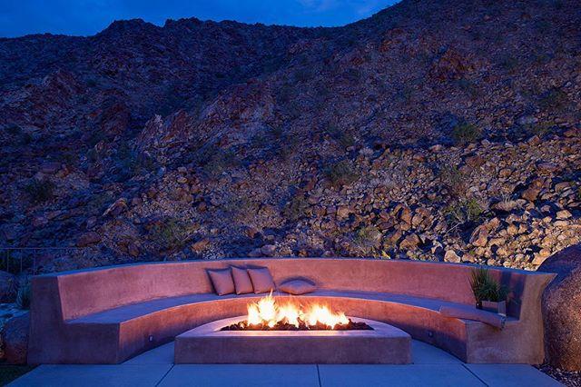 Desert fire pit!