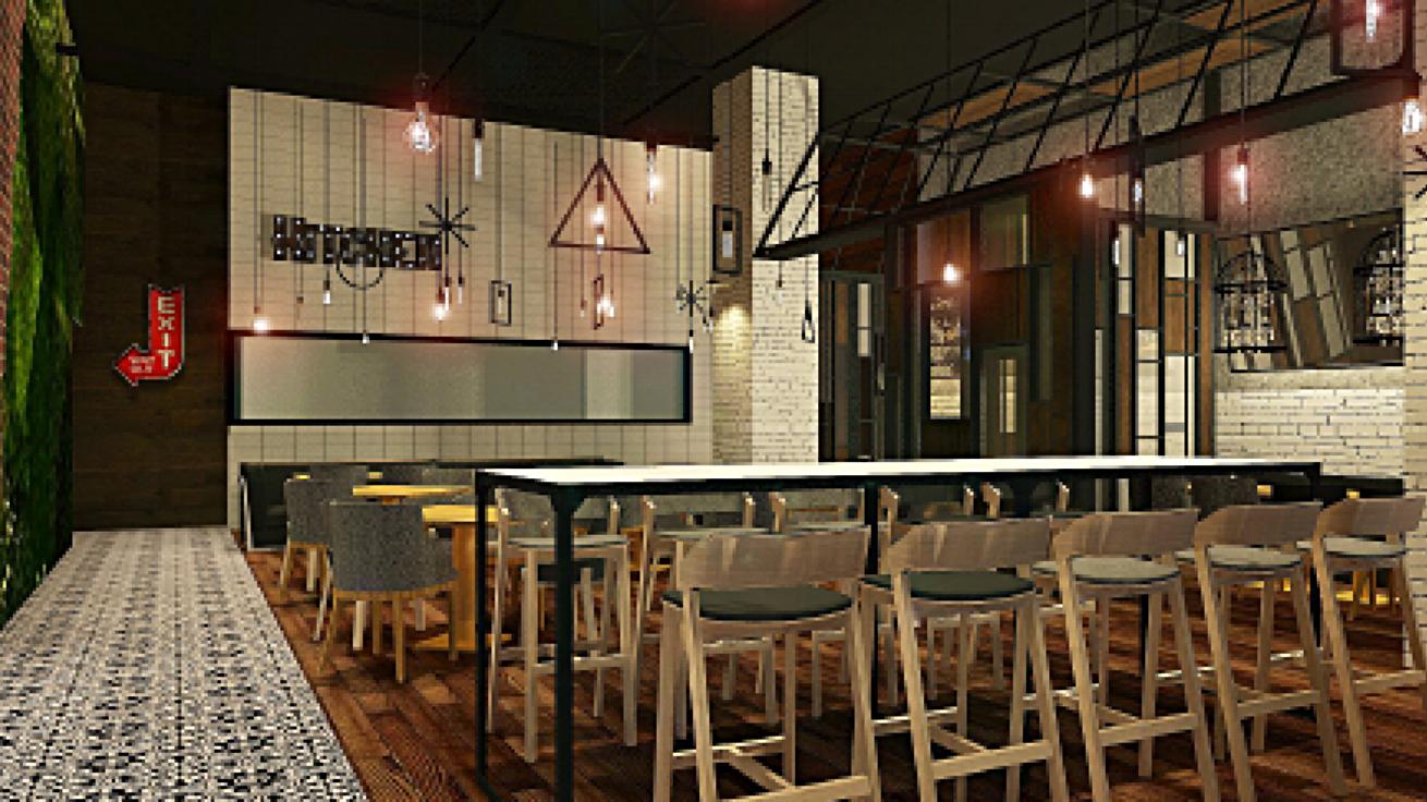 Kungfu Fish Restaurant Design Concept, Arcadia CA
