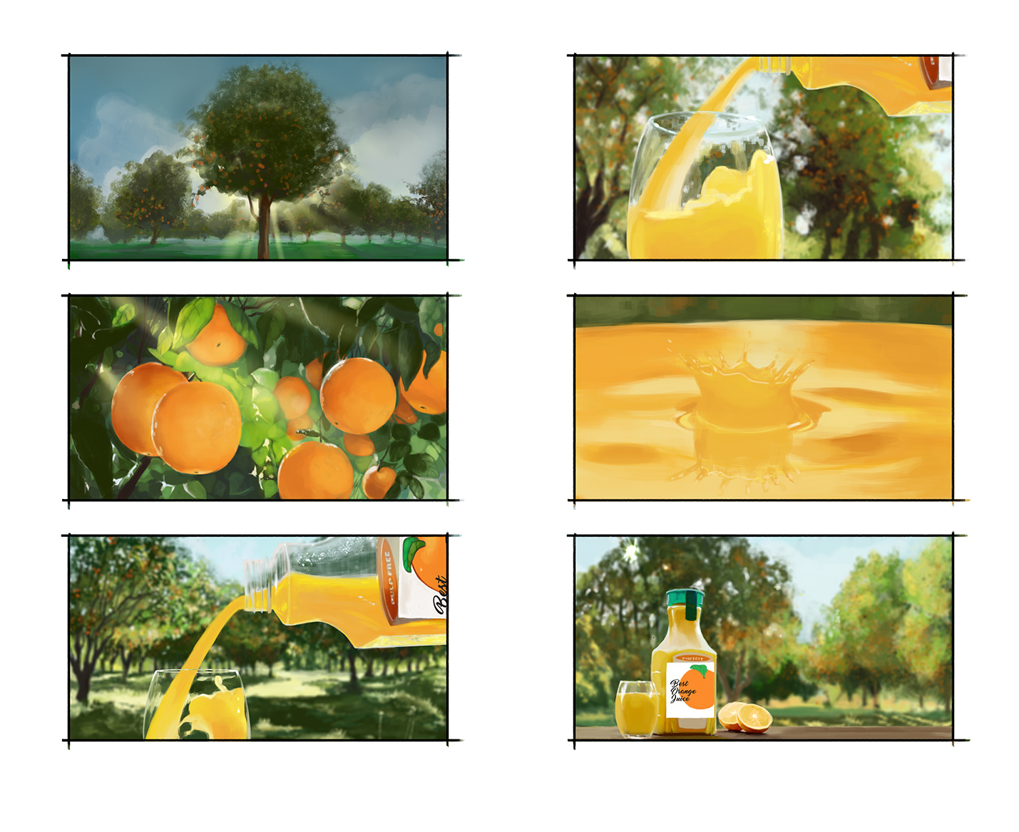 Orange Juice 'boards