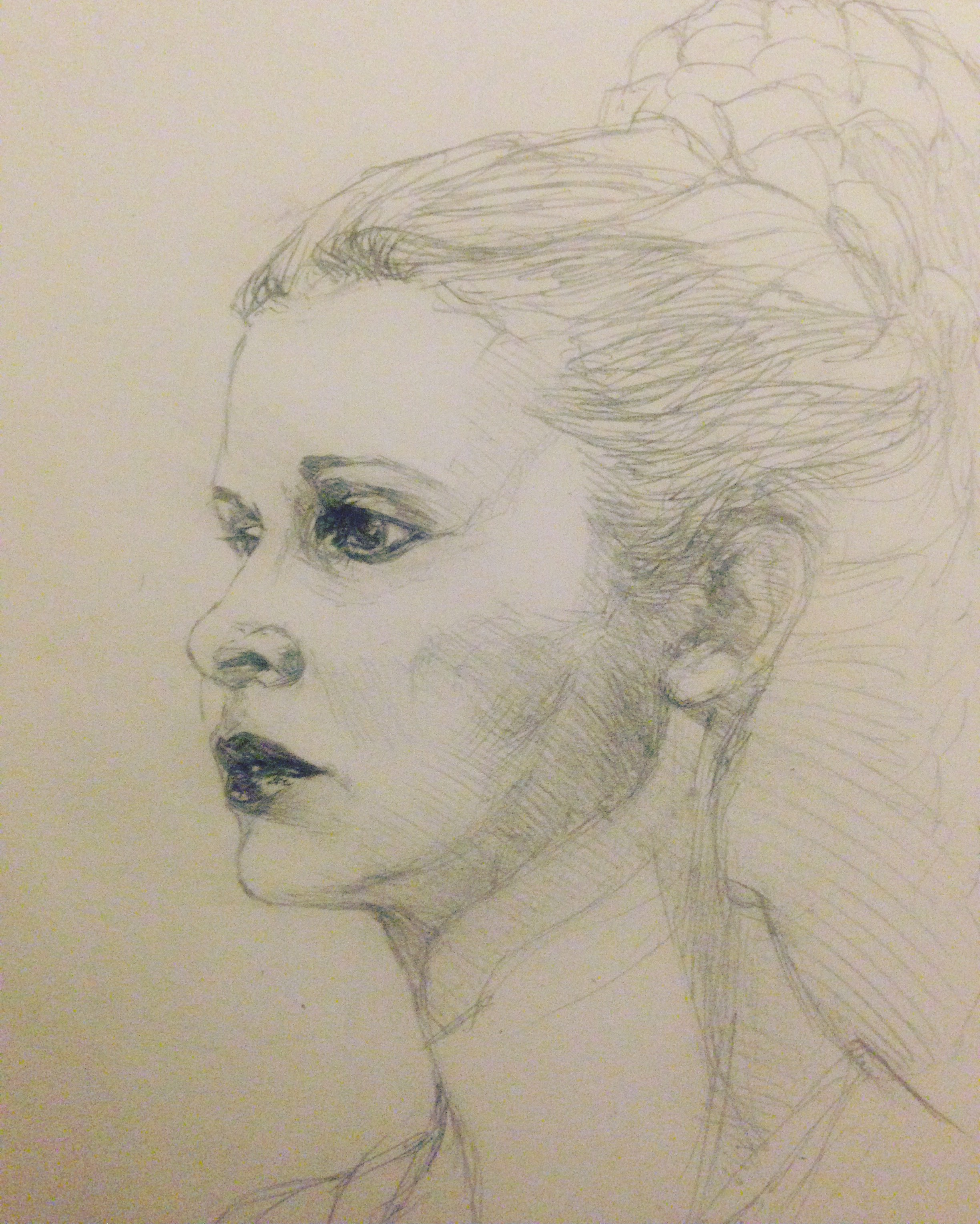 Princess Leia sketch