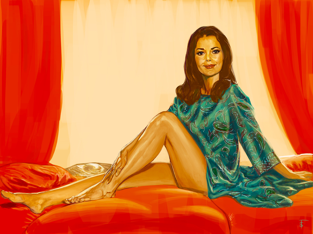 Karin Dor. Bond girl in You Only Live Twice.
