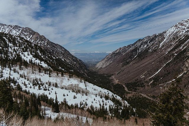 Little Cottonwood Canyon views.⠀⠀