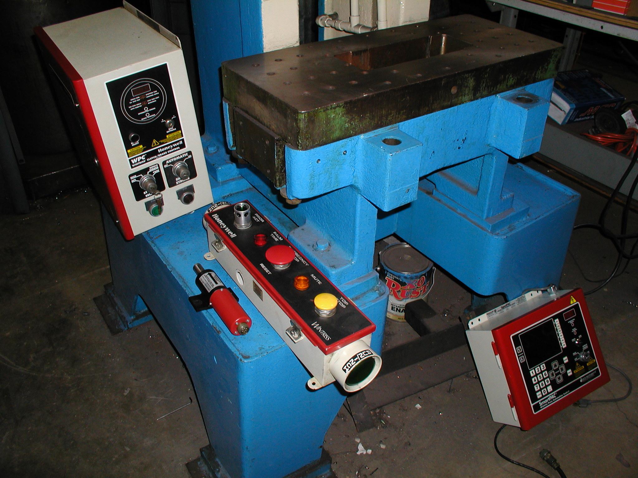 Perkins Press before Control Instalation