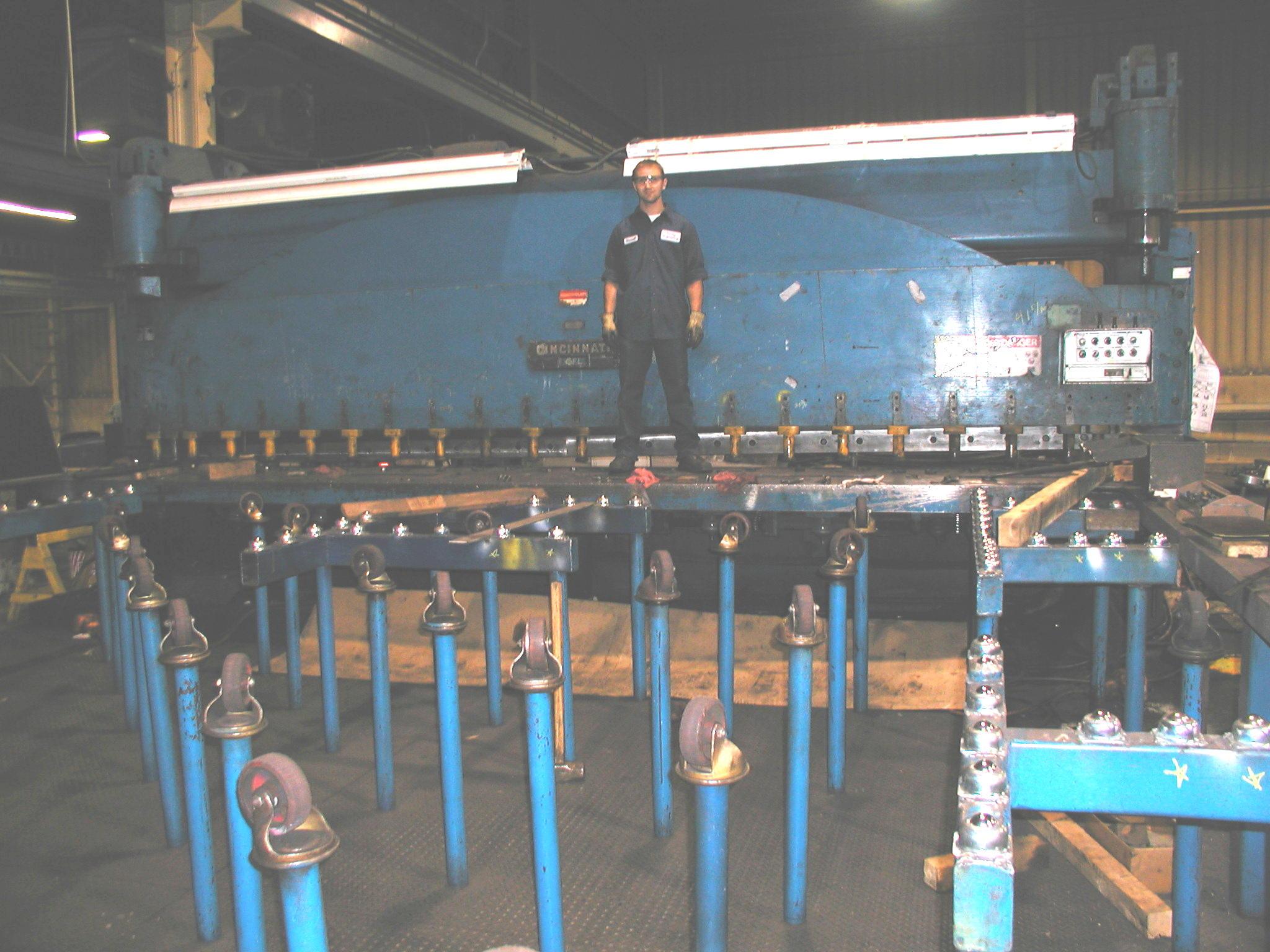 Hydraulic Shear 20 ft x 5/8 inch Capacity