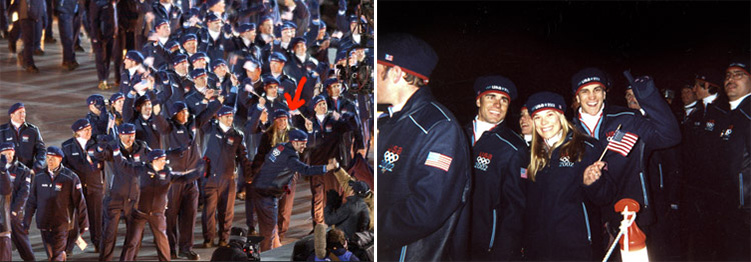 Exactly one year later, walking into the opening ceremonies at the 2002 Salt Lake City Winter Olympic Games was one of the most emotional moments of my life. It is hard to describe the intensity of the energy, the hopes, the dreams, and the potentiality that is contained in that stadium when all the athletes and coaches from around the world file in to the thundering applause of the fans. I took one step into Rice-Eccles stadium and burst into tears. For that one night of the Olympics, there are no winners or losers, no contracts or prize money, no MVPs or media favorites. Instead, it is as if the whole of humanity has somehow collectively won, and I can not think of a more beautiful feeling.
