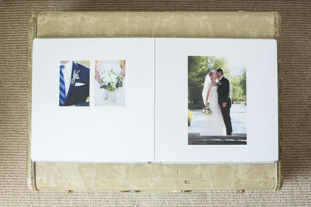 Albums are custom designed using a selection of images from the day. They can generally fit around 75 images and you can choose to select your images or opt to have me select the best images to tell the story of the day for you.