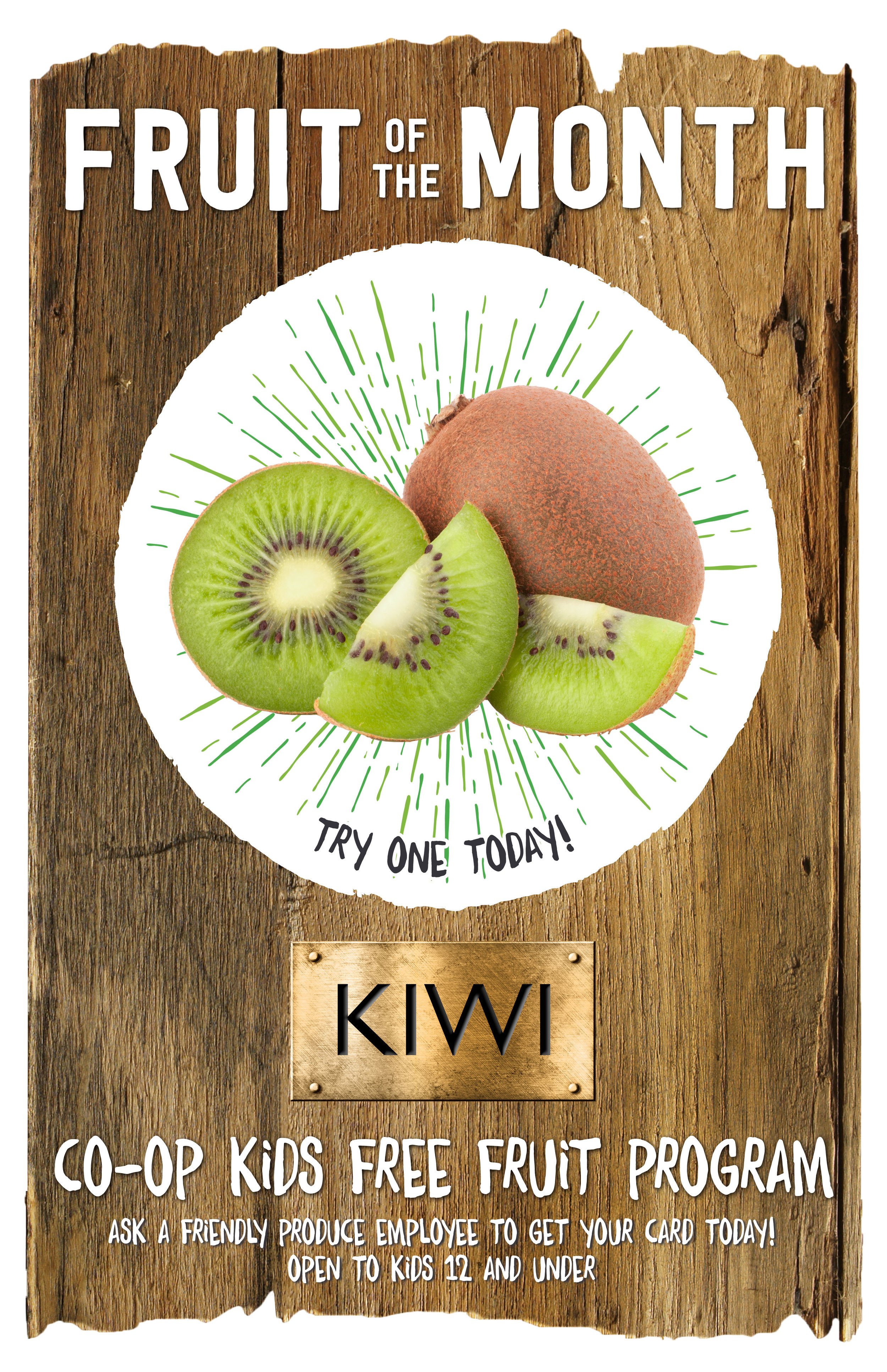 November's Fruit of the Month poster