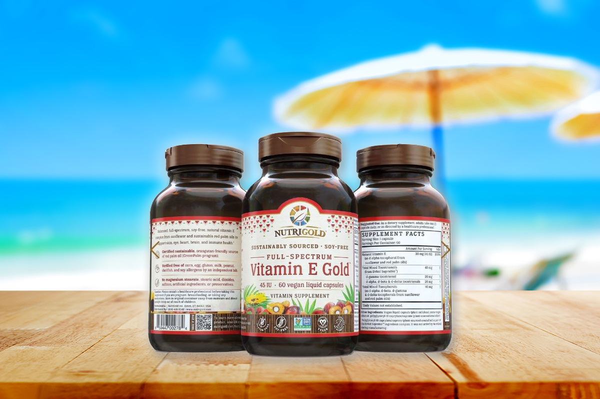 Nutrigold Vitamin E   New Item We're Excited About!   Check it out