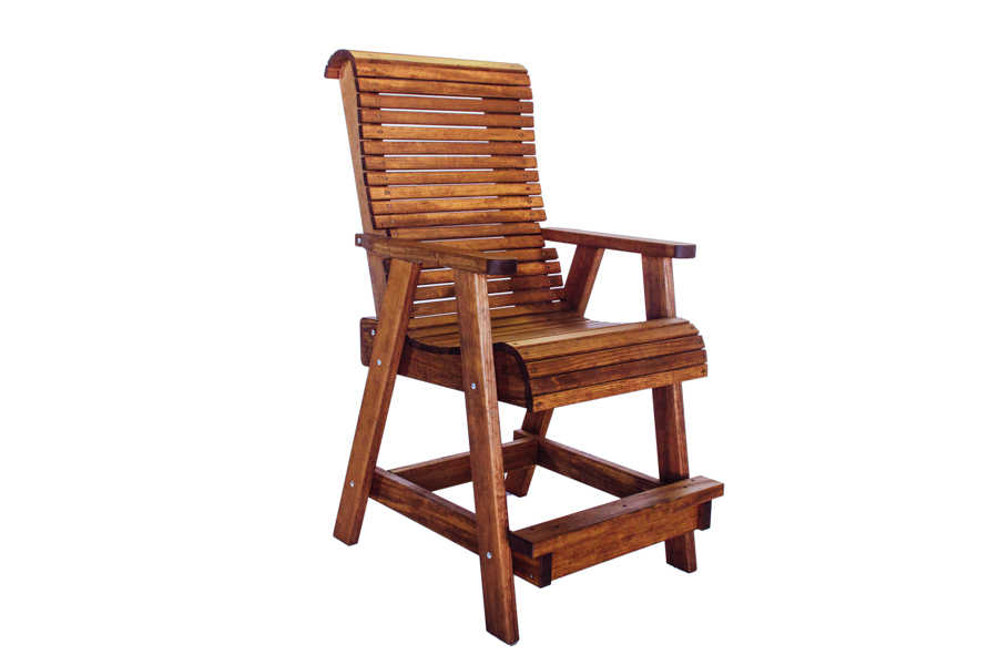 "Highback Bar Chair   26 3/4"" W X 36 3/4"" D X 52 3/4"" H"