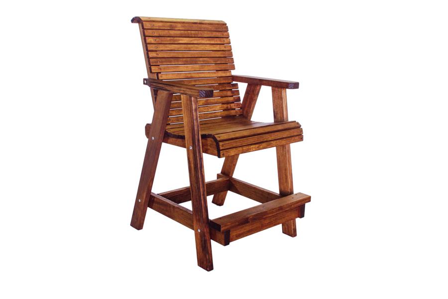 "Lowback Bar Chair  26 3/4"" W X 32"" D X 46"" H"