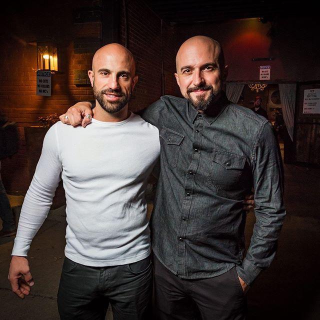 #TBT with my bro @jakeori. #oribros #ori #oridesigns #orimedia #oriholdings #makersgonnamake #brothers