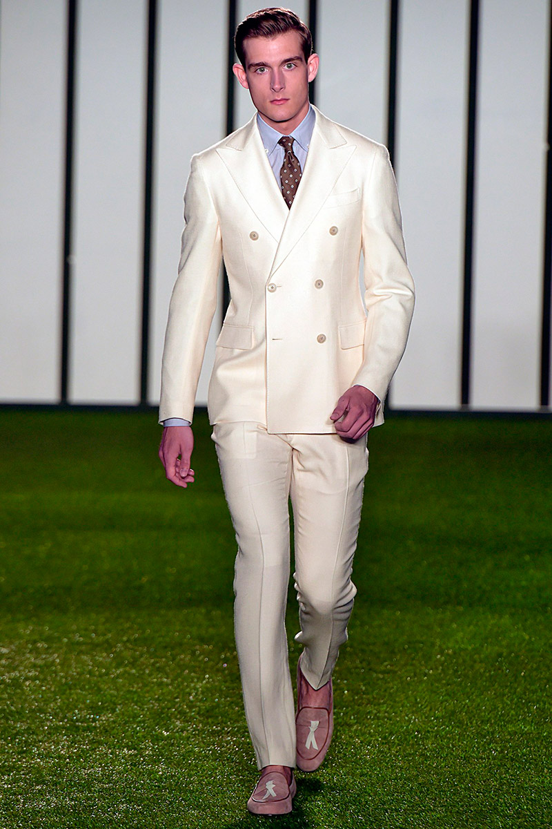 Hackett London unveiled an elegant Spring/Summer 2015 collection during London Collections: Men.