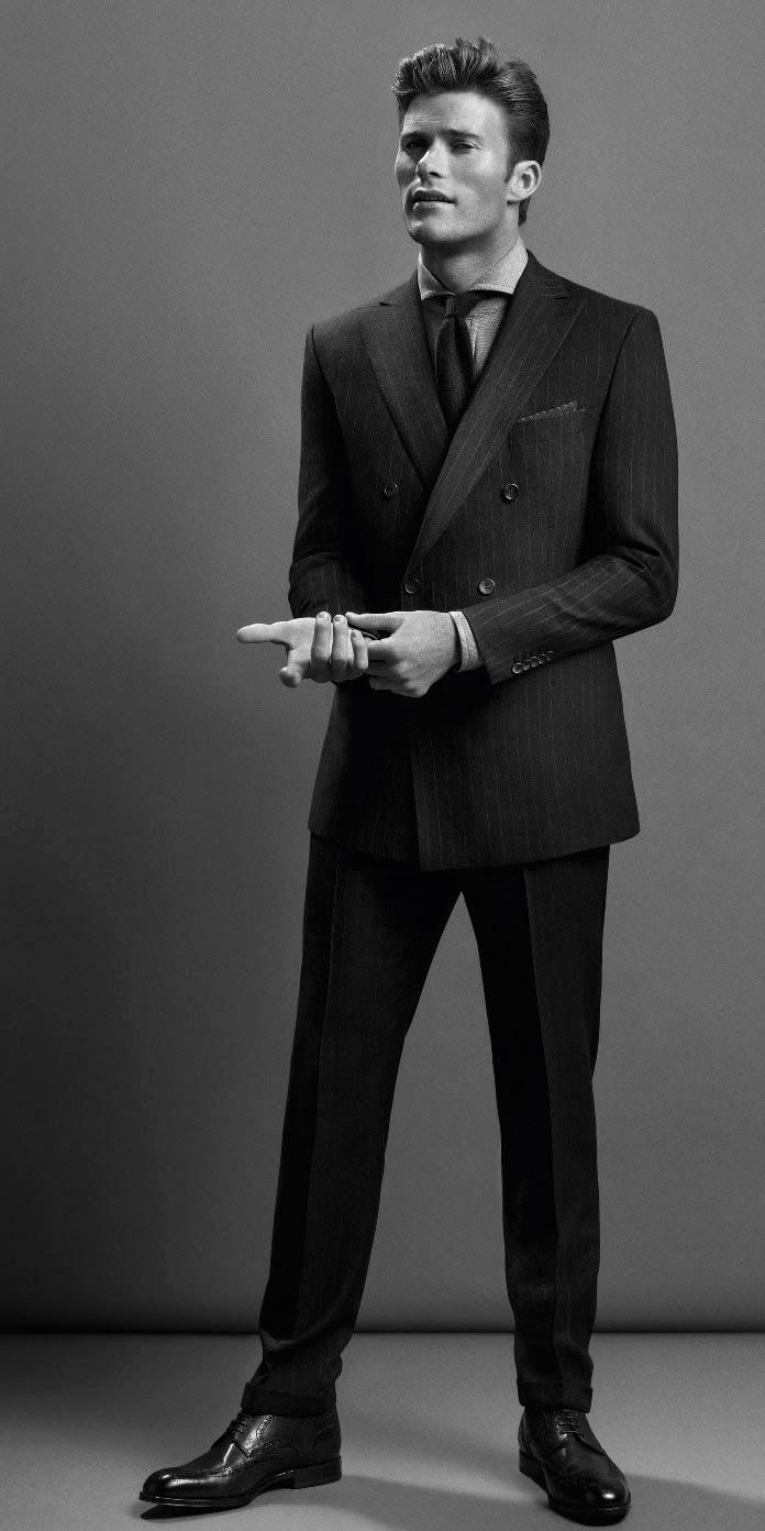 Scott Eastwoodfronts the Hugo Boss Fall/Winter 2014 campaign of  Boss Black .