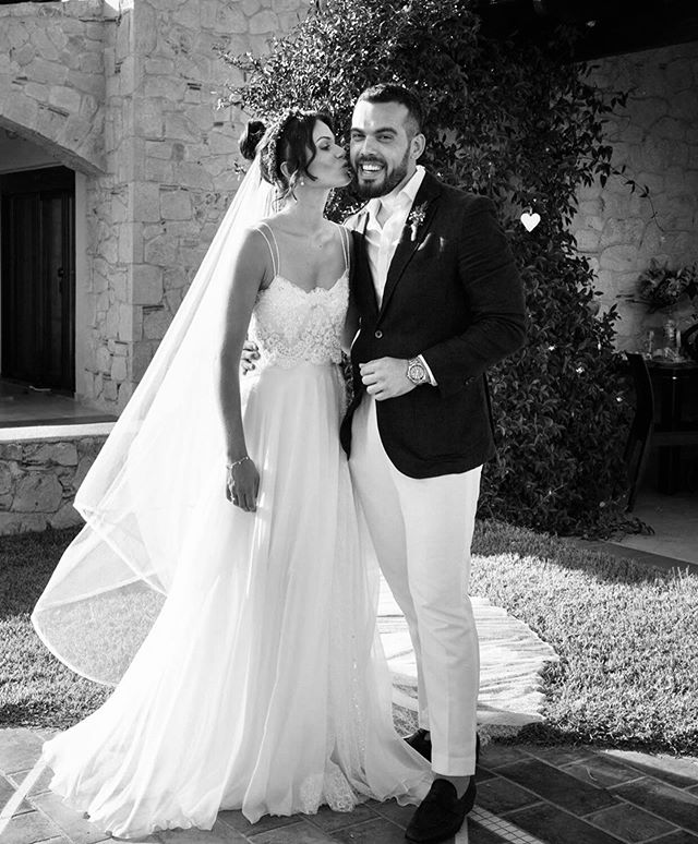 My best friend, my sister, the most gorgeous bride ever! 👰 😘 @olgapapa  #wedding #bestman #brotherandsister