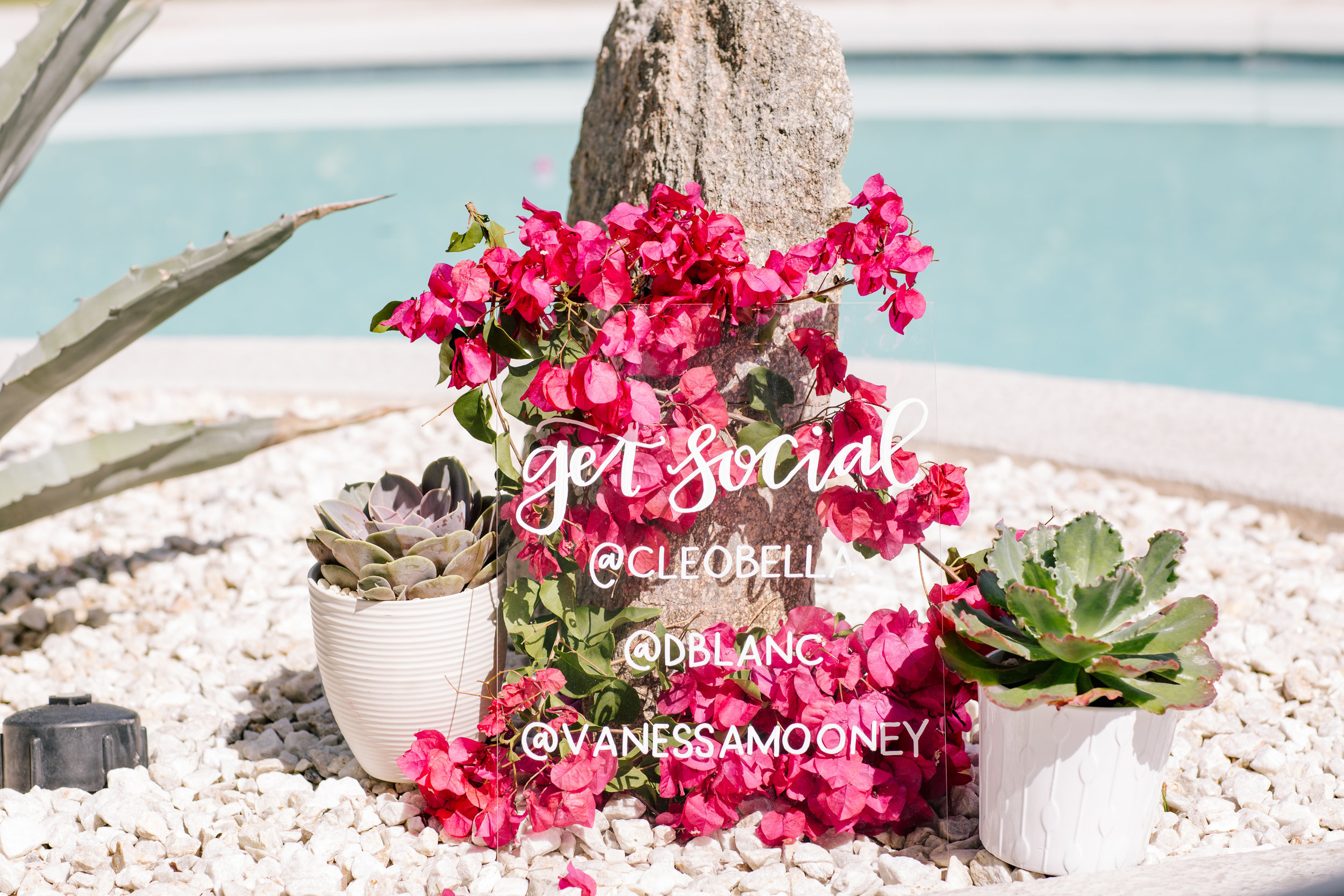 A Bright Bohemian Summer Pool Party