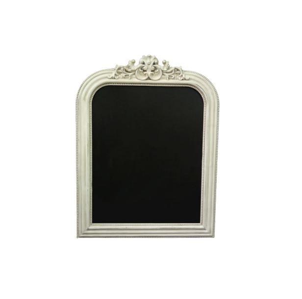 "17.75""x1.5"" x 23"" White Ornate Frame"