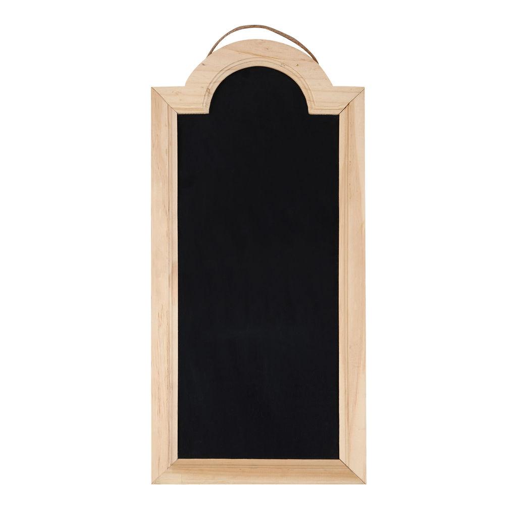 """22"""" x 10"""" x 0.4""""Chalkboard with Pine Frame"""
