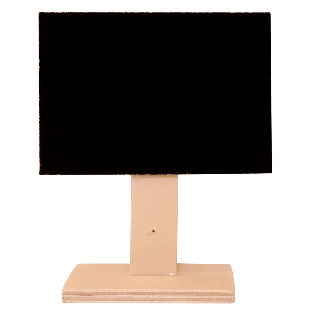 "4""x2.75"" Chalkboard Stand"