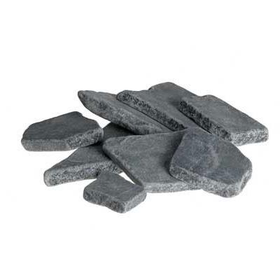 2.2lb Bag Black Slate Pieces