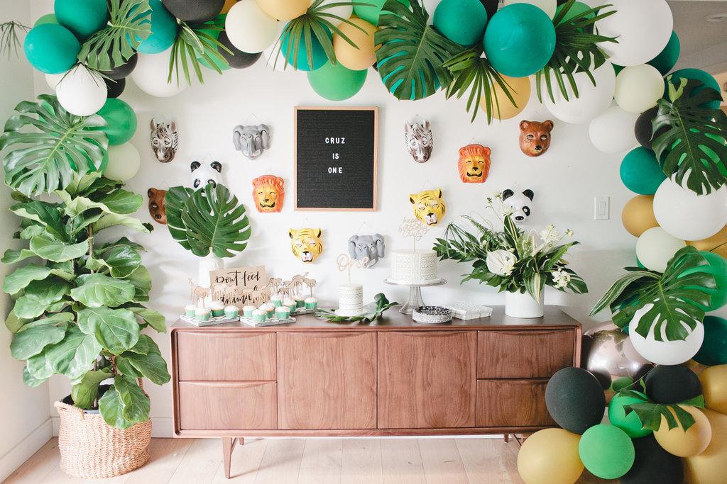 Jungle Themed 1st Birthday