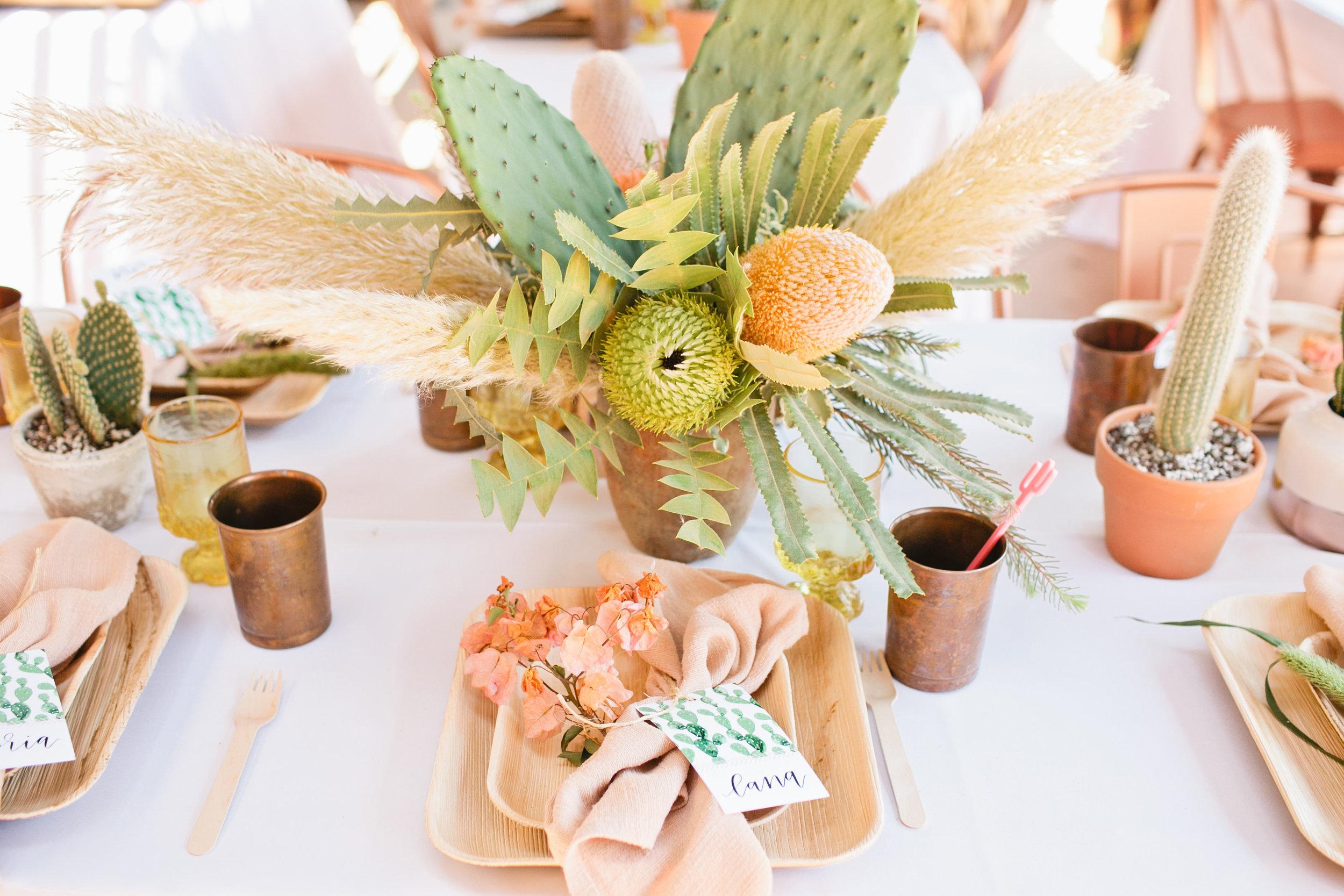 Cactus-Inspired Bridal Shower