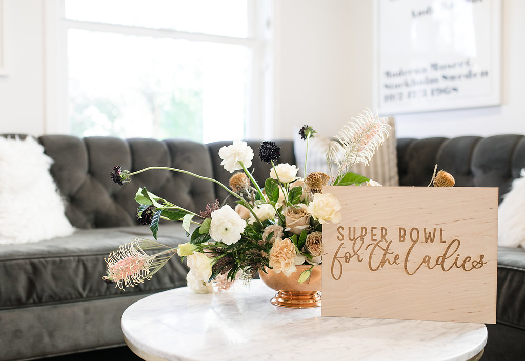 Stylish Super Bowl Party at Home