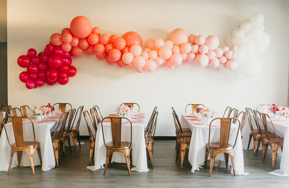 Pink Ombre First Birthday Party