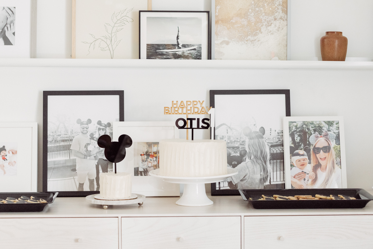 Modern Mickey Mouse 1st Birthday Party