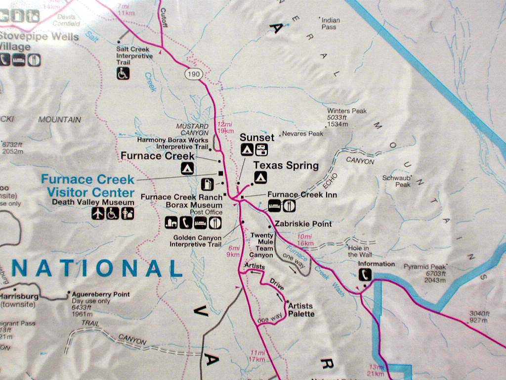 Map of the area we were stopped at