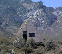 The abandoned miner's house