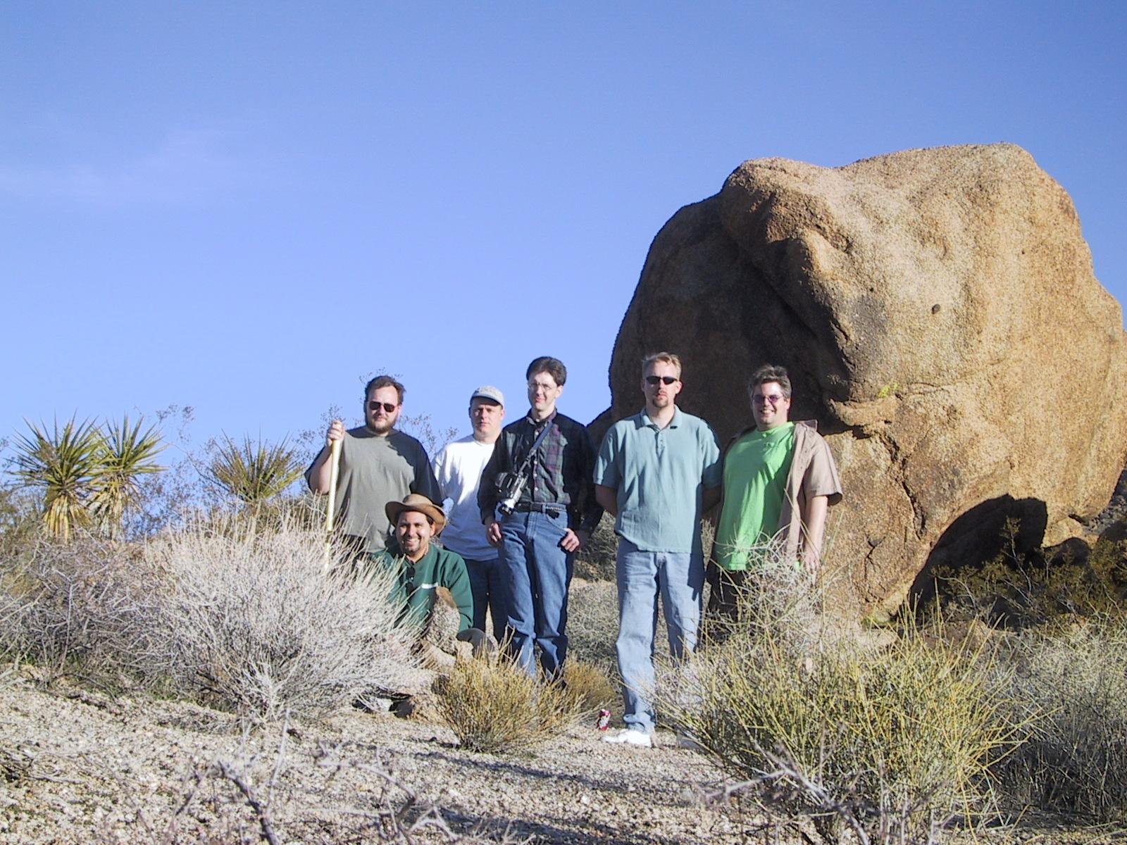 Steve, Dwight, Chris, Joe, Ted, Mike