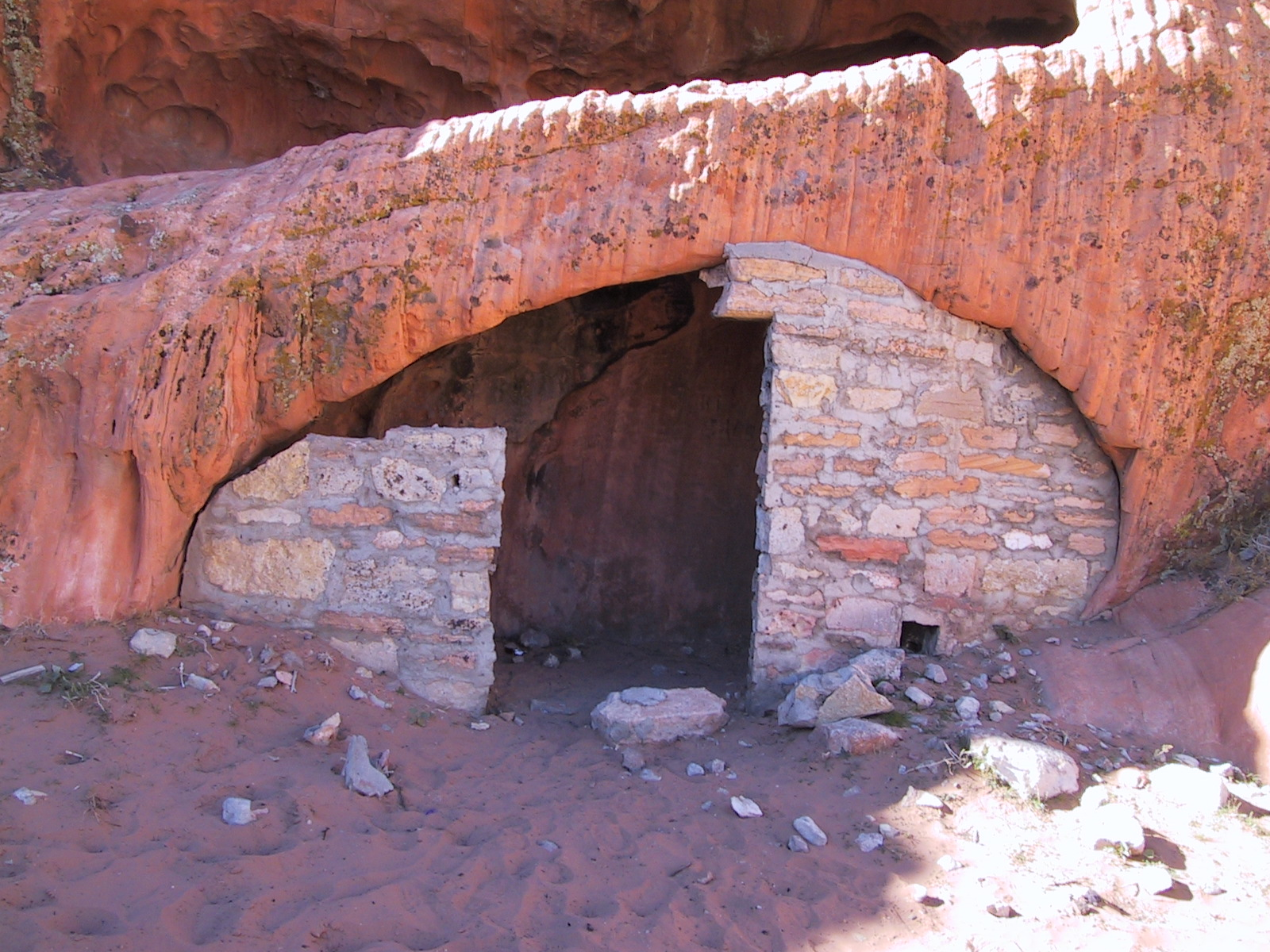 Cave house at Whitney's Pocket